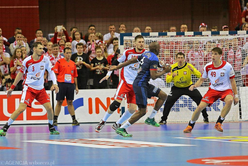 EHF Euro 2016 w piłce ręcznej. Mecz Polska - Francja