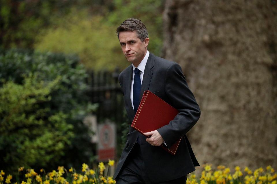 Zdymisjonowany minister obrony narodowej Wielkiej Brytanii Gavin Williamson.