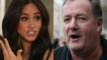 Meghan Markle ; Piers Morgan