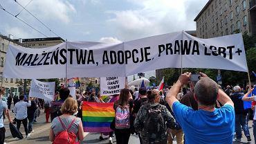 Dumni i Wściekli protestowali podczas marszu 'Polska w Europie'