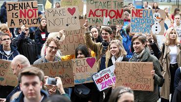 Kraków: Młodzieżowy Strajk Klimatyczny