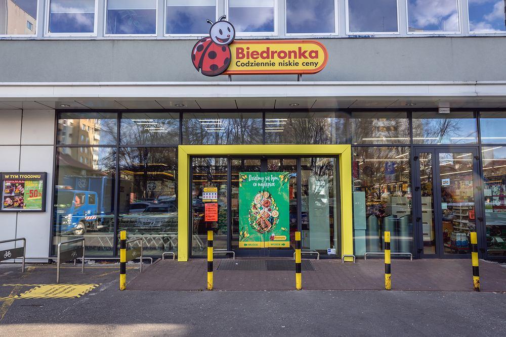 Zakupy w Biedronce