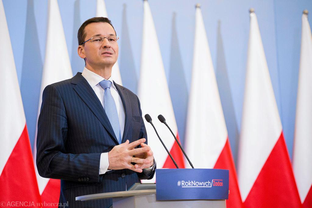 Wicepremier i minister rozwoju w rządzie PiS Mateusz Morawiecki