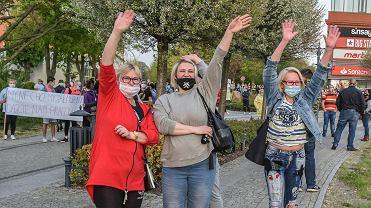 Protestujący na granicy: Nie dostajemy tych wszystkich