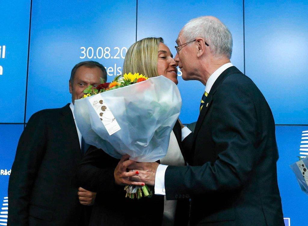 Federica Mogherini i Herman van Rompuy