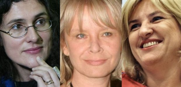 Aleksandra Pawlicka, Małgorzata Domagalik i Eliza Olczyk