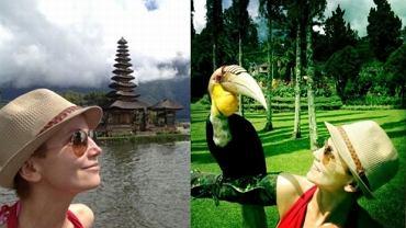 Katarzyna Zielińska na Bali