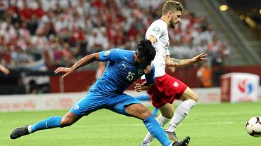 Polska - Izrael 4:0. Mateusz Klich