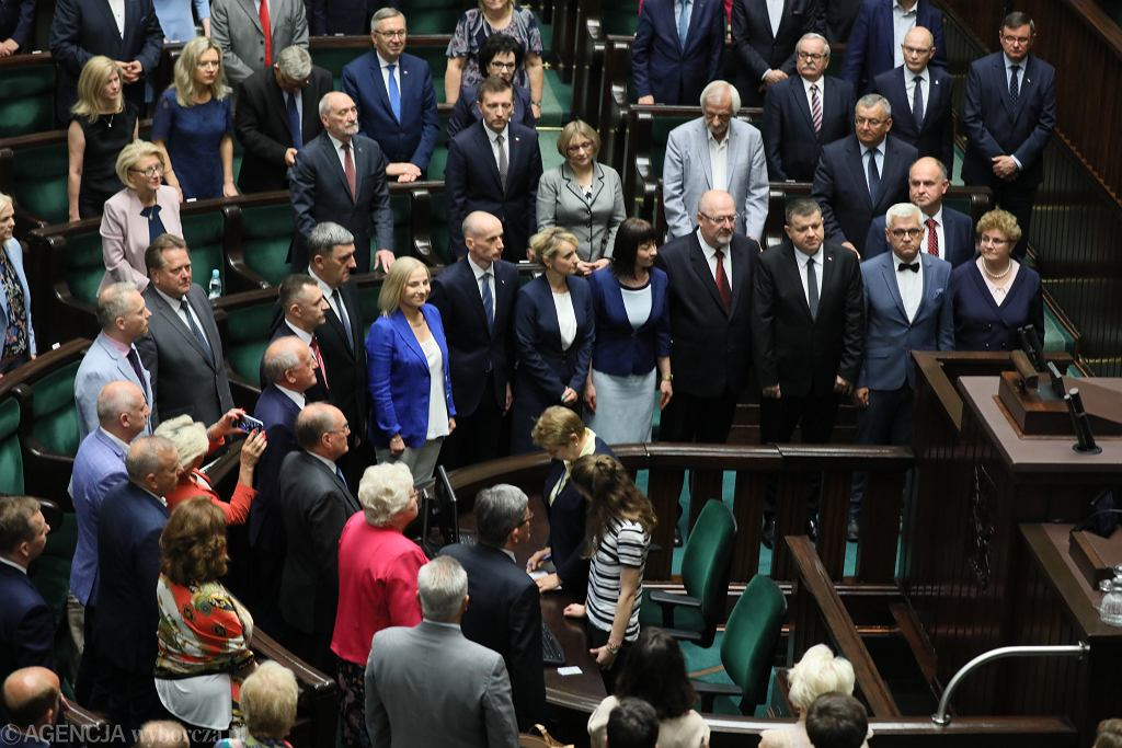 Ślubowanie nowych posłów w Sejmie - 12 czerwca 2019