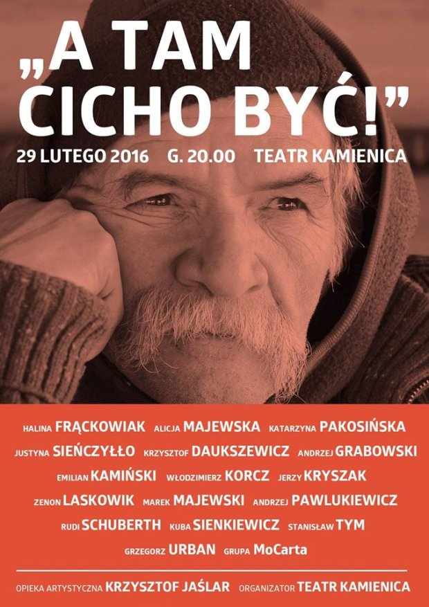 Koncert charytatywny dla Bohdana Smolenia