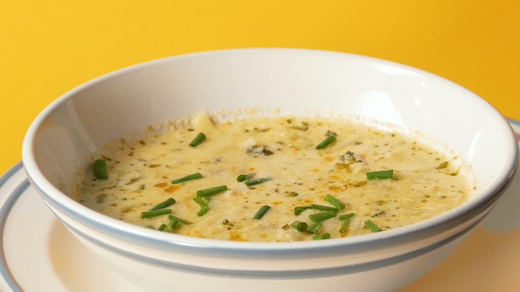 zupa serowa