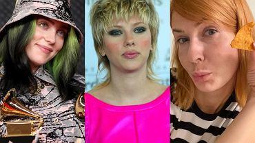 Billie Eilish, Scarlett Johansson, Edyta Pazura