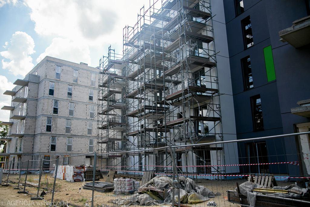 Budowa osiedla w Bydgoszczy