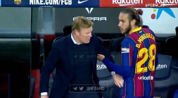 Aż siedem goli w Barcelonie. Koeman wściekły na swojego piłkarza [WIDEO]