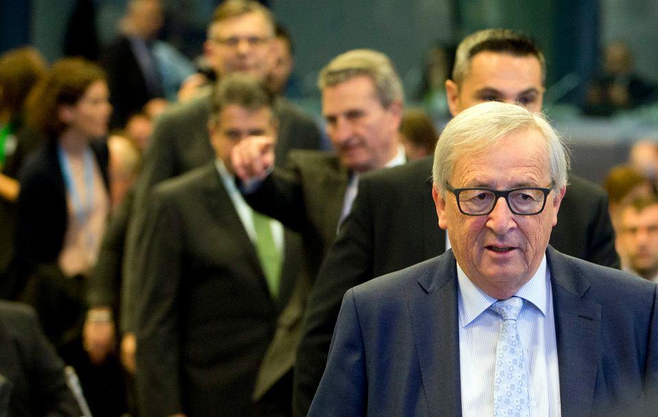Przewodniczący Komisji Europejskiej Jean-Claude Juncker.