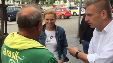 Spotkanie polityków PO z panem Andrzejem w Węgrowie
