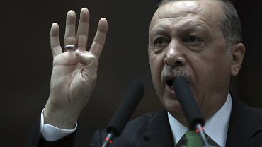Prezydent Turcji Recep Tayyip Erdogan. Ankara, 16 stycznia 2018