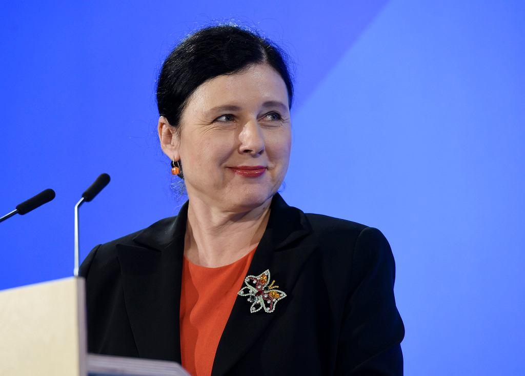Vera Jourova. Zdjęcie ilustracyjne