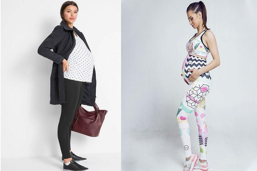 Legginsy ciążowe na lato