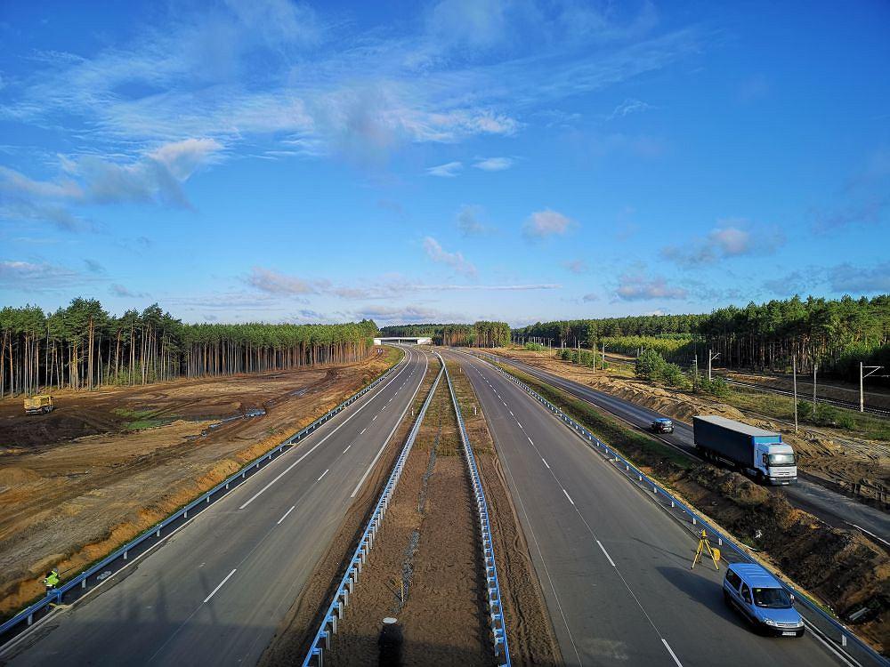 Nowy odcinek drogi S5 Kaczkowo - Leszno Południe