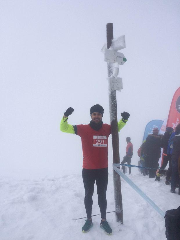 IX Alpin Sport Tatrzański Bieg pod Górę. Biegacze wygrali z mrozem