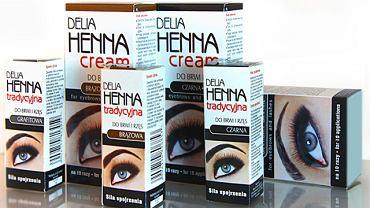 Delia - henna do brwi oraz rzęs