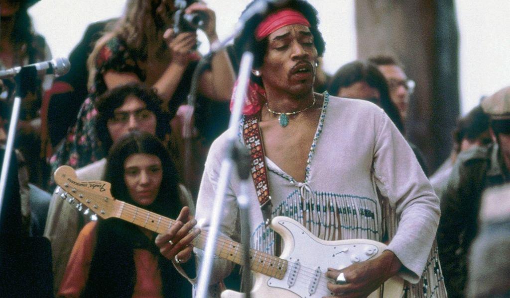 Jimi Hendrix na Woodstock, 17 sierpnia 1969