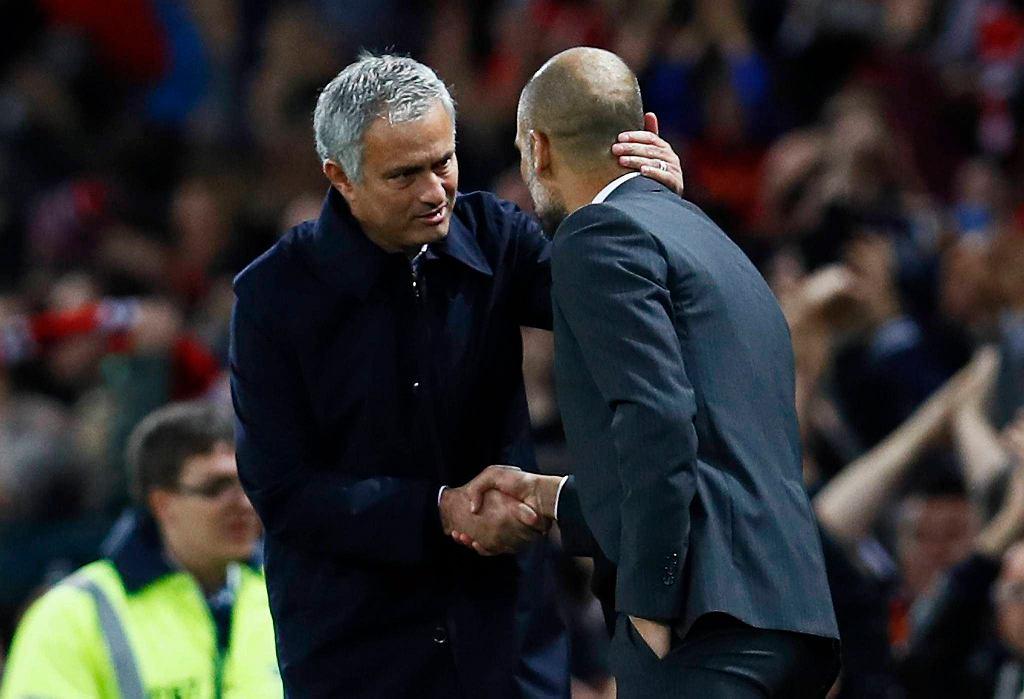 Jose Mourinho i Josep Guardiola