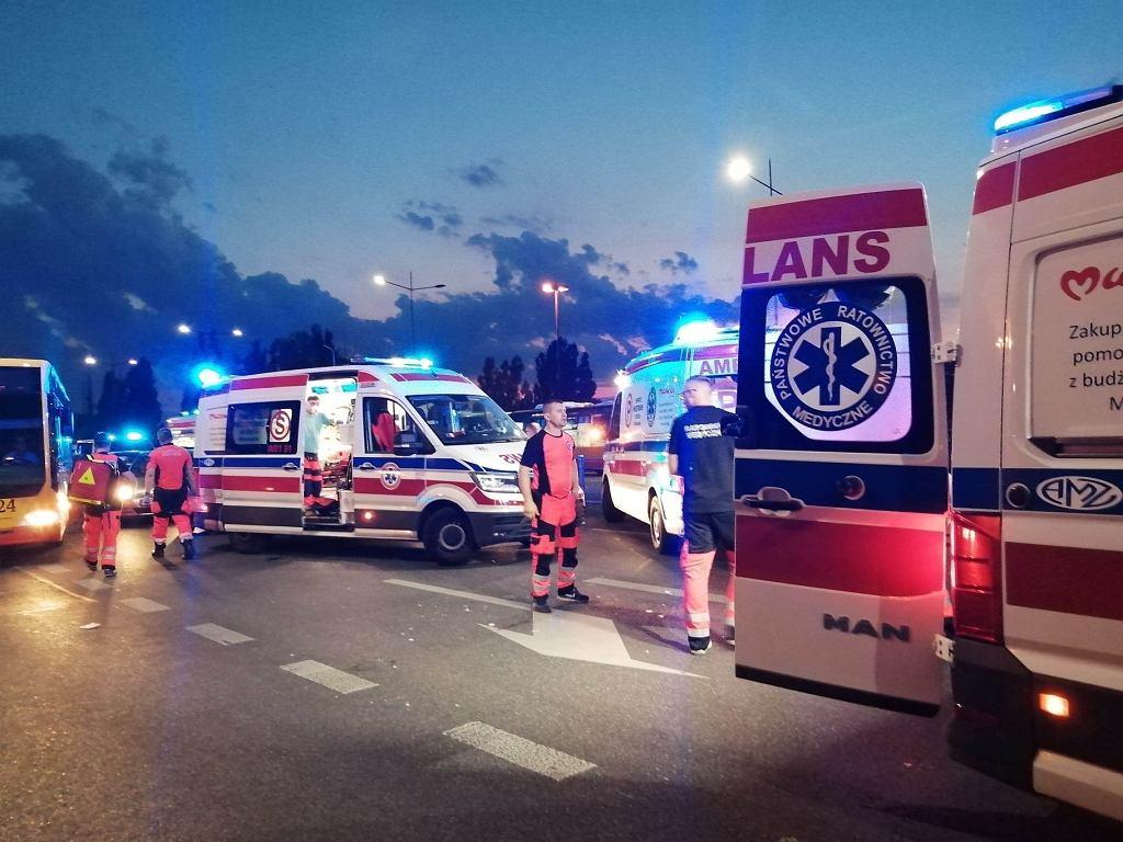 Śmiertelne potrącenie na Trasie Łazienkowskiej