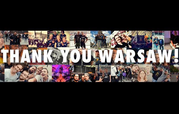 Metallica podziękowała polskim fanom