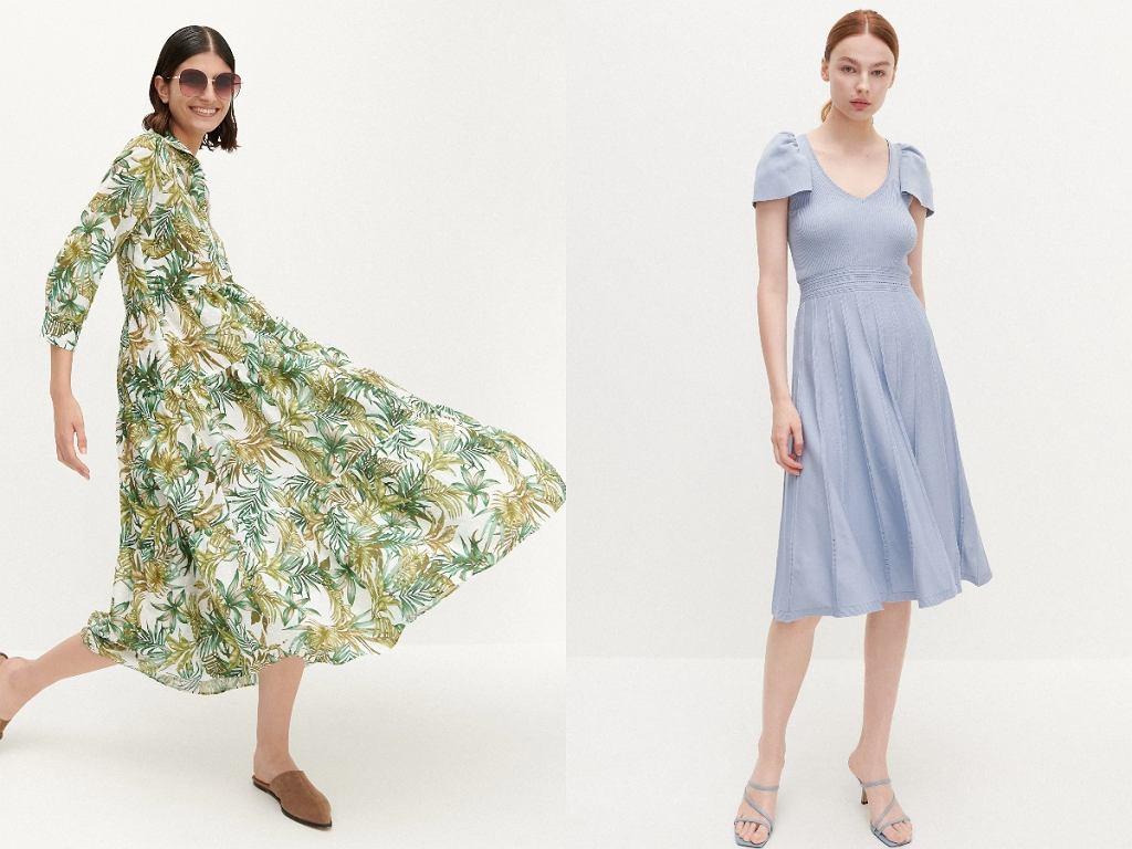 sukienki z Reserved - wyprzedaż