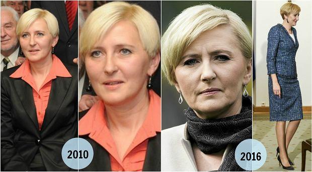 Zdjęcie numer 14 w galerii - Joanna Mucha z nową fryzurą. Nowe cięcie i... brak farby do włosów. Udany pomysł? Fani mają skrajne opnie