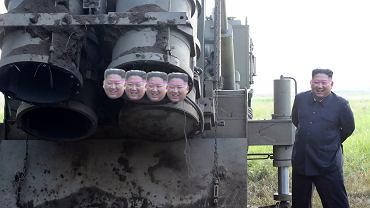 Głowa Kima jako sposób na zmierzenie kalibru rakiety