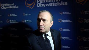 Grzegorz Schetyna, szef PO