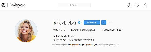 Hailey Baldwin zmieniła nazwisko
