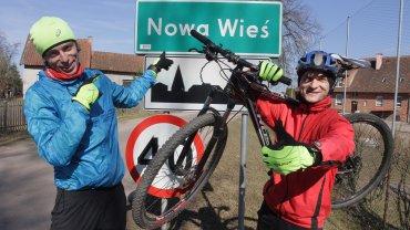 Biegacz Tomasz Domżalski i rowerzysta Mirosław Arczak - jedni z głównych organizatorów ekoSTART-u Warmia i Mazury 2016