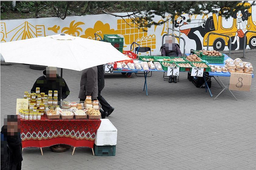Nielegalny handel uliczny