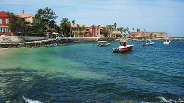 Wyspa Goree, leży 3 km od Dakaru