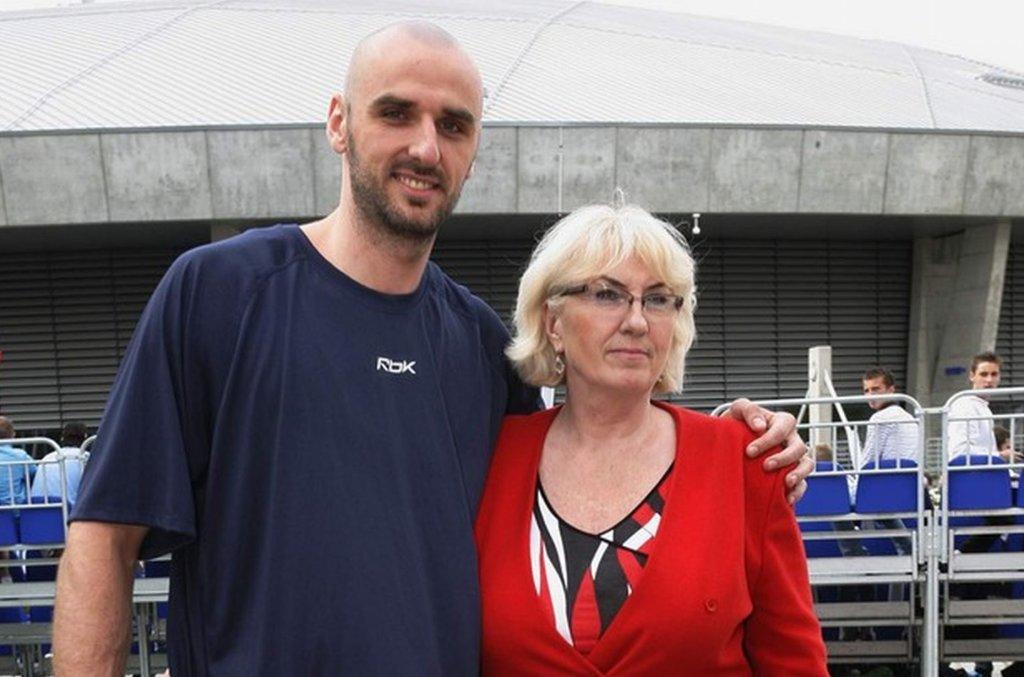 Marcin Gortat i Alicja Gortat