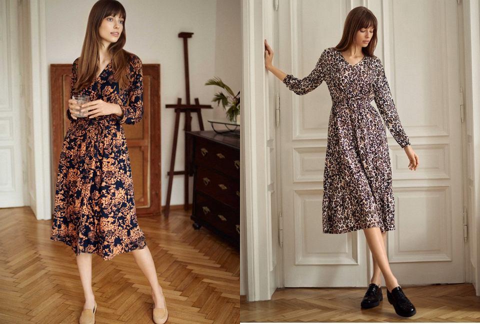 elegancka sukienka dla kobiet po 50-tce