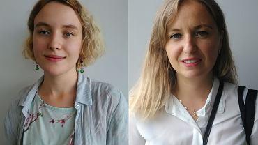 Yuliia Malynovska i Joanna Kluska