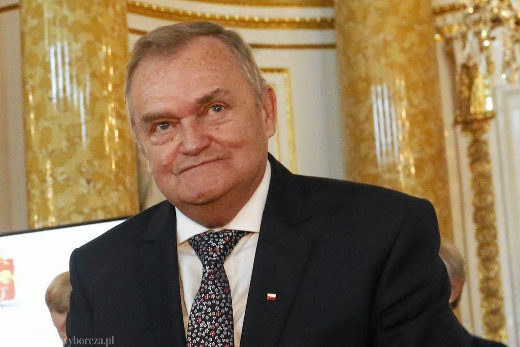 Sędzia Wiesław Johann. Zdjęcie archiwalne (2017)