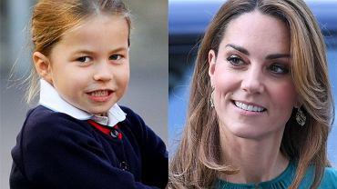 Księżniczka Charlotte i księżna Kate