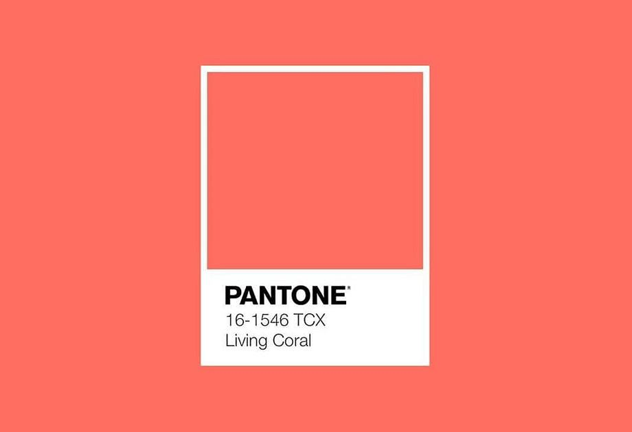 Kolor roku 2019 - Living Coral, Instytut Pantone
