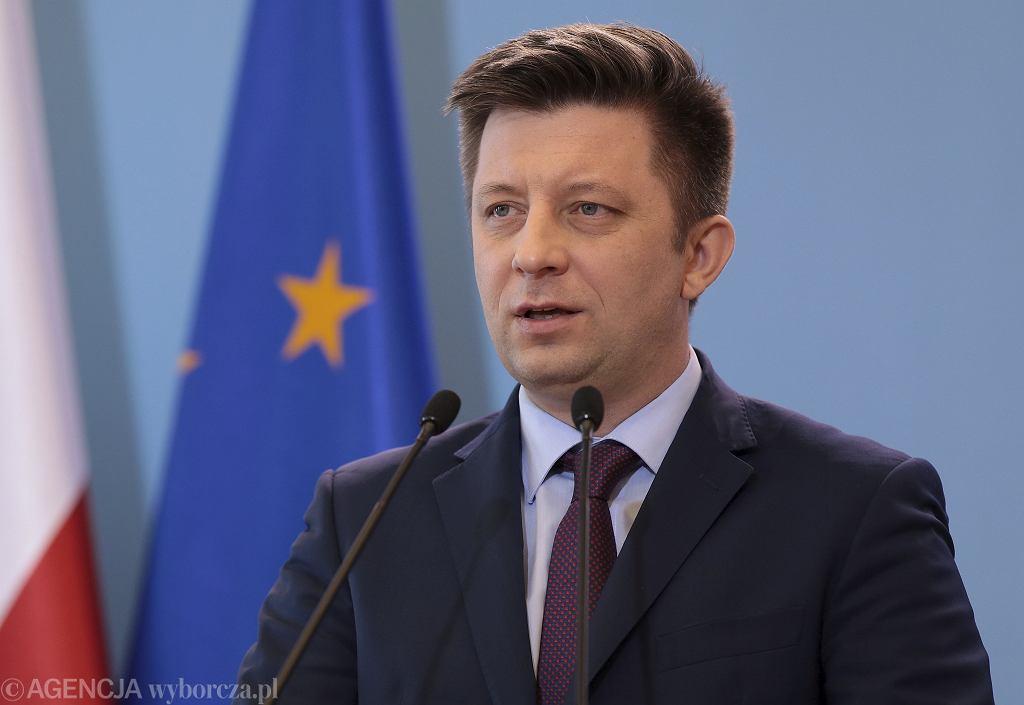Minister Michał Dworczyk