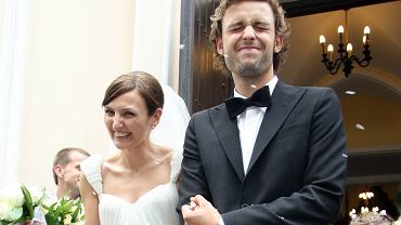 Ślub Reni Jusis i Tomka Makowieckiego w Konstanicinie