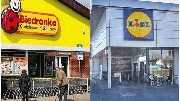 Całodobowe sklepy Biedronka i Lidl w Warszawie i okolicach