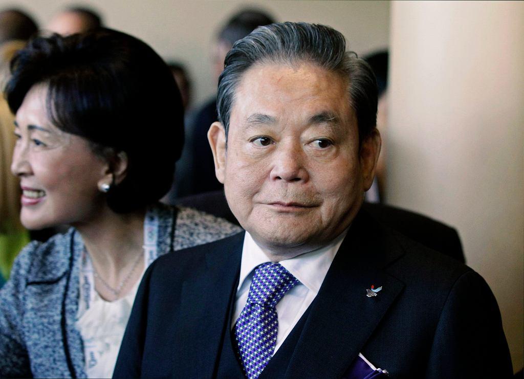 South Korea Obit Samsung Chief