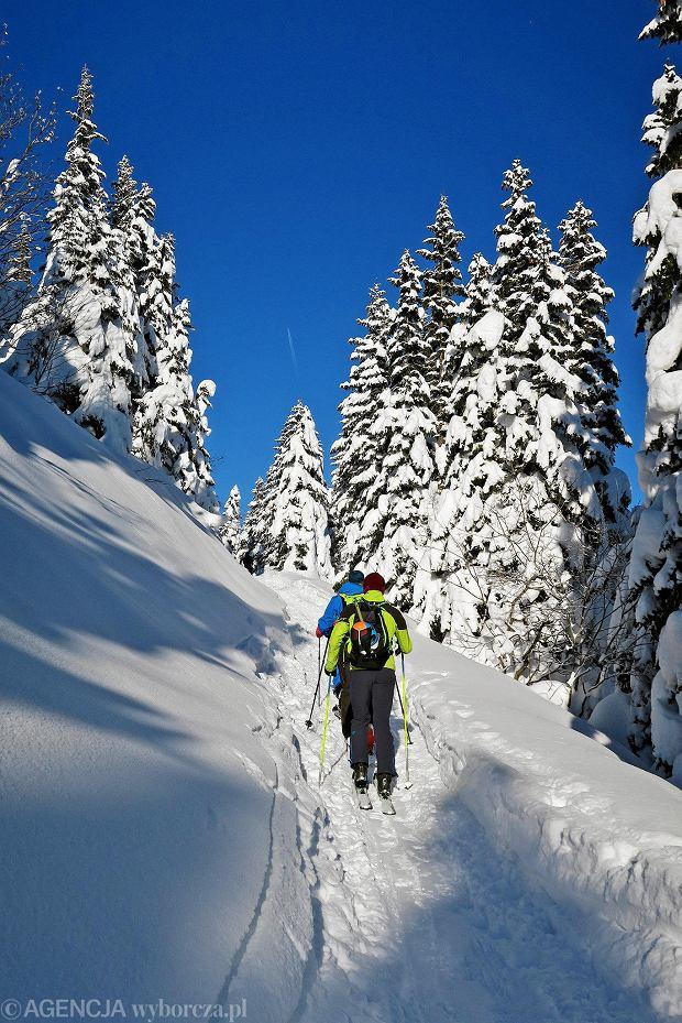 Zdjęcie numer 40 w galerii - Słońce, śnieg i szczyty. Piękna pogoda w Tatrach, zachwycające widoki
