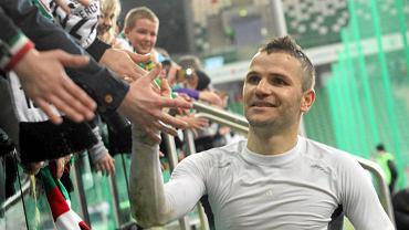 Tomasz Brzyski po meczu Legia - Pogoń (3:1)